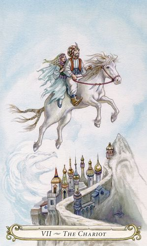 The Chariot The Fairy Tale Tarot By Lisa Hunt Tarots Pinterest
