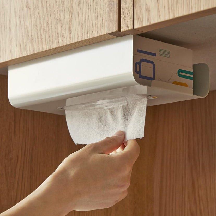 吊り戸棚用キッチンペーパーホルダー105円 キッチンペーパー
