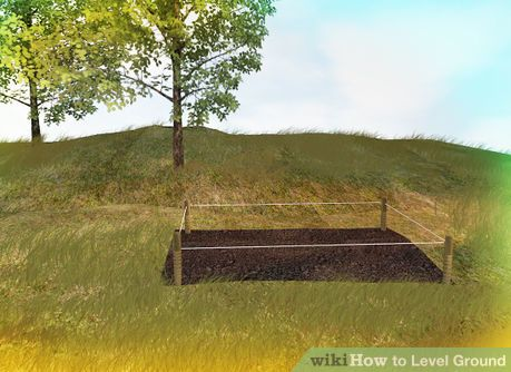 How To Level Ground How To Level Ground Above Ground Swimming Pools Building A Shed