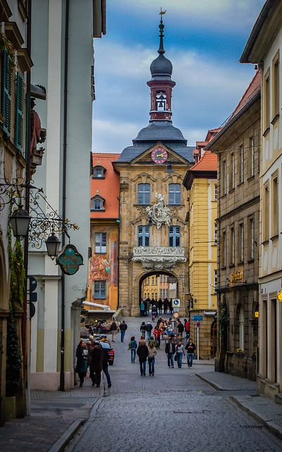 Old Town Portal and Clock Tower, Bamberg, Germany