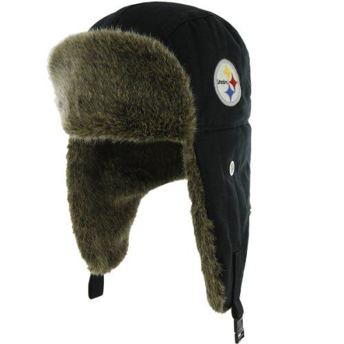 f3205fe45 Men's '47 Brand Pittsburgh Steelers Stevenson Trapper Hat One Size Fits All  by '47