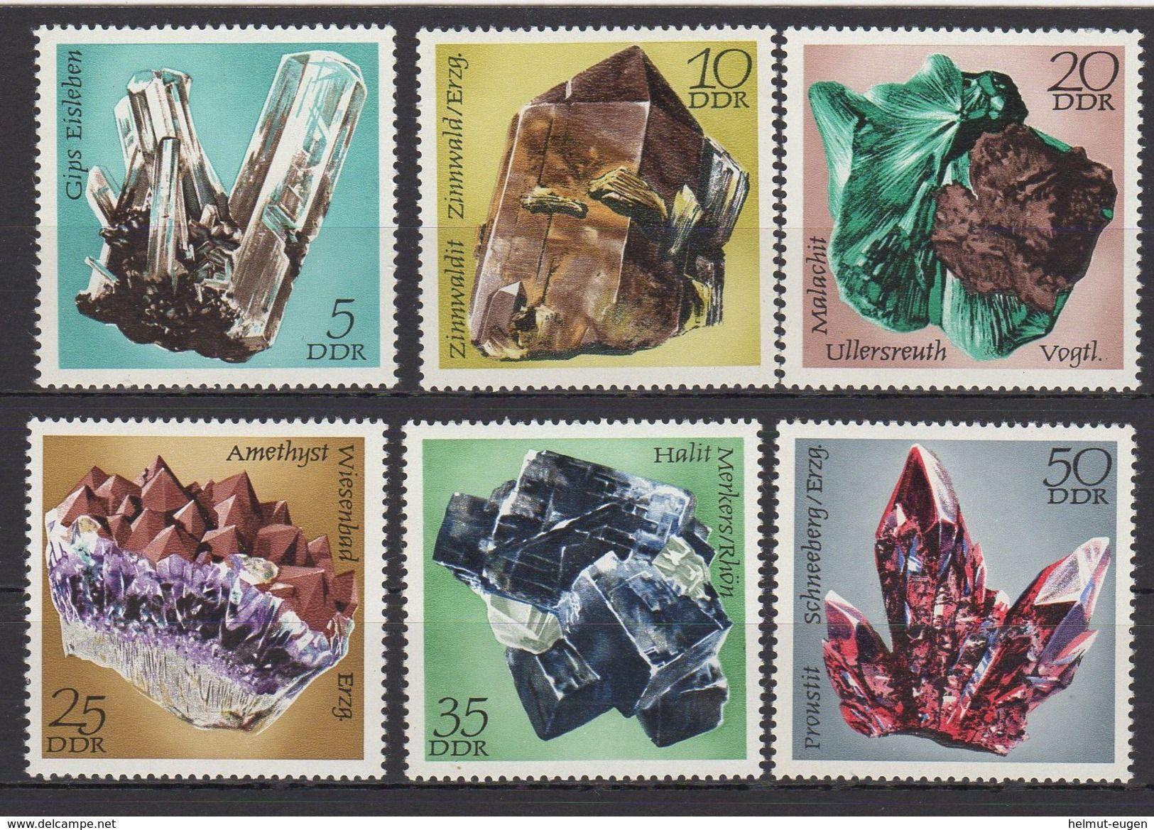 Ddr Minerale Aus Den Sammlungen Der Bergakademie Freiberg Ii