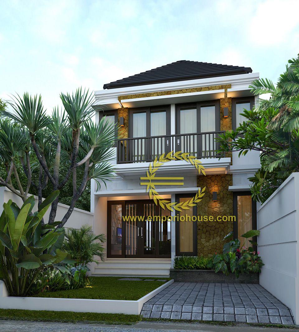 Desain rumah lantai kamar lebar tanah meter dengan ukuran