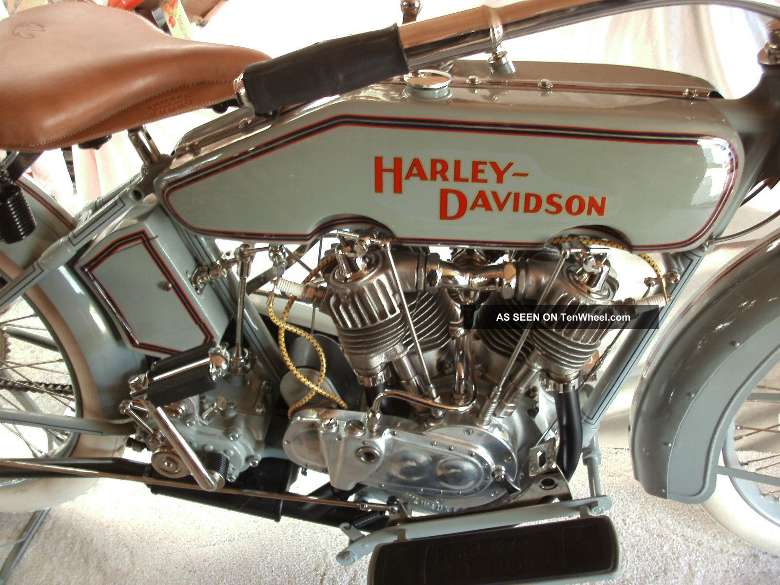 1916 Harley Davidson Model J / F Veteran / Vintage Twin At Other photo