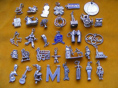Ss various vintage sterling #silver charm guitar m church #bible #rings dove pixi,  View more on the LINK: http://www.zeppy.io/product/gb/2/371221833997/