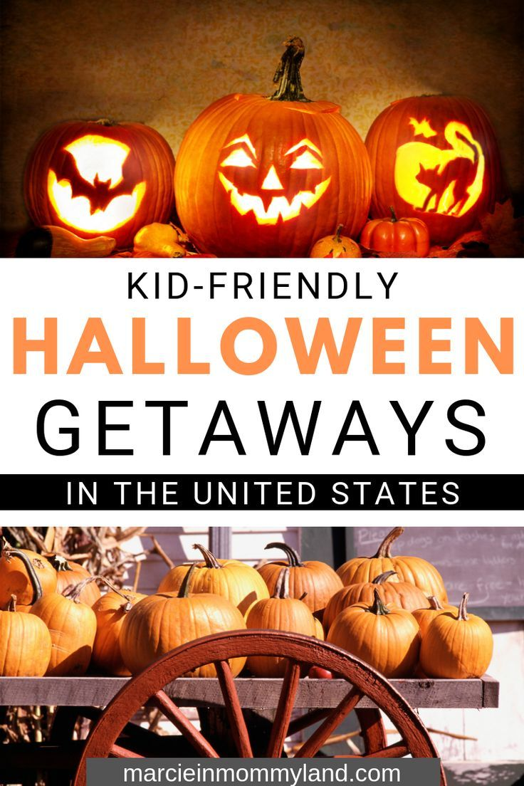Best Halloween Vacations for Families #vacationdestinations