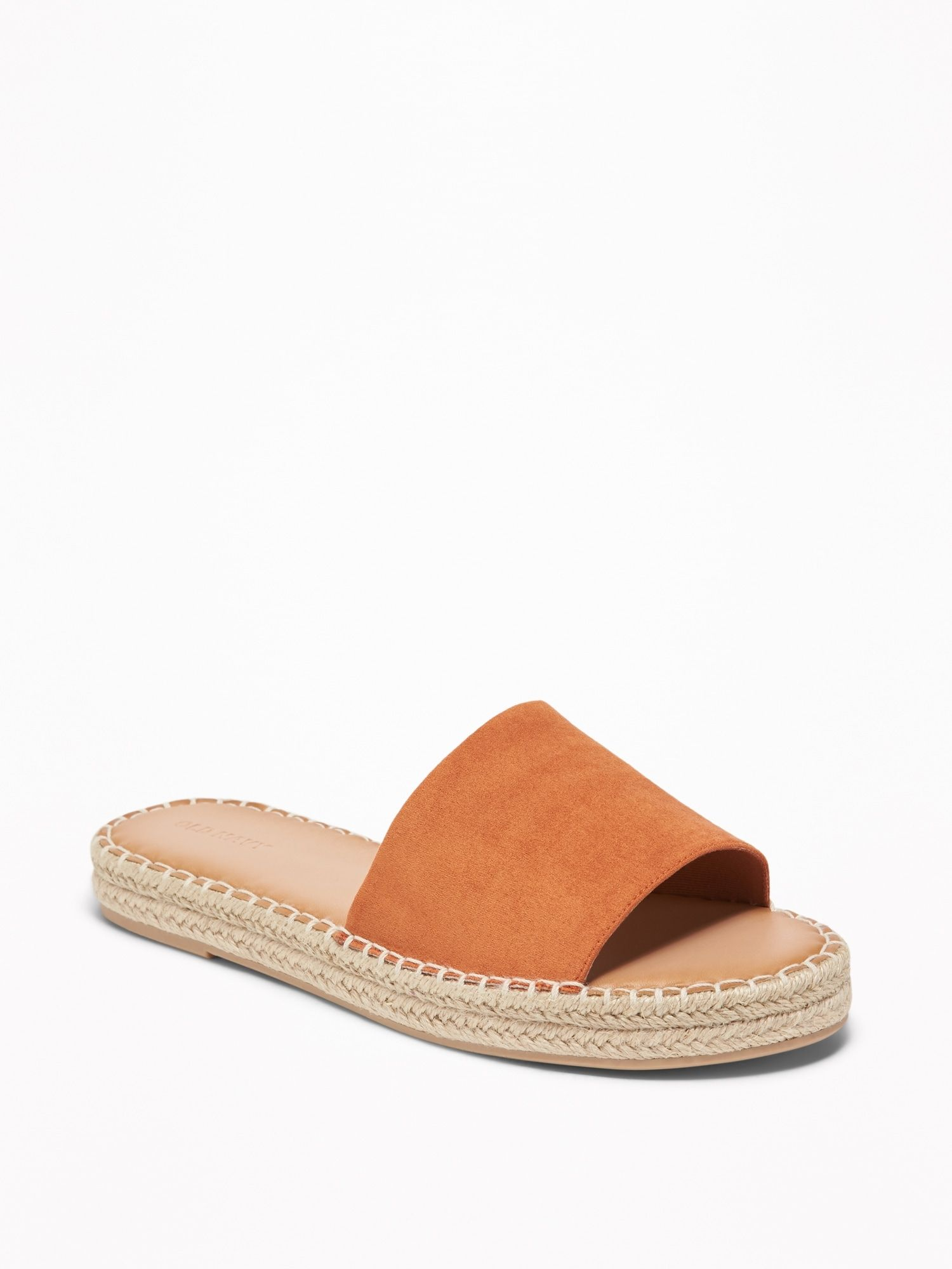 Faux Suede Slide Espadrille Sandals for Women | Old Navy