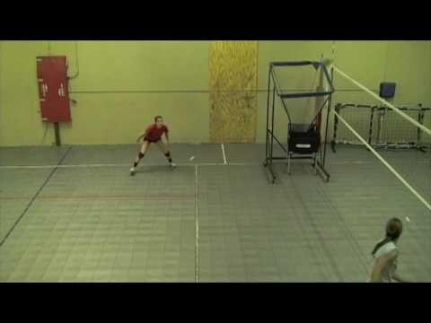 Danielle Lindahl Volleyball Libero Skills Video Youtube Libero Volleyball Youth Volleyball Volleyball Problems