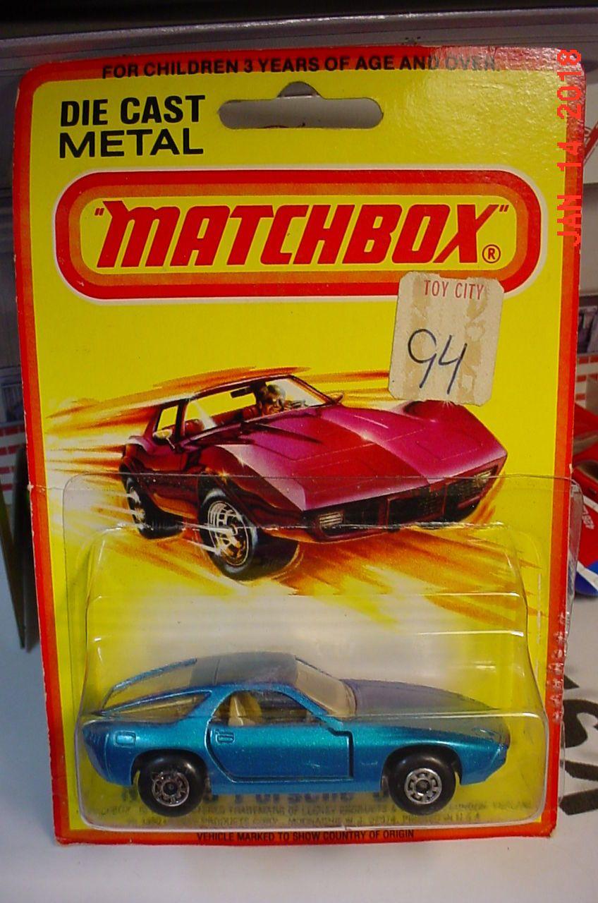Matchbox Superfast 1980 MB 59 Porsche 928 Blue Tan Int