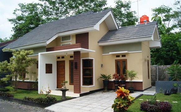 info desain rumah cantik asri sederhana
