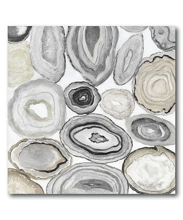 Love this Gray Halves I Wrapped Canvas on #zulily! #zulilyfinds