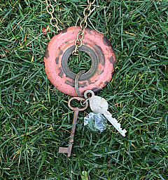 Red Knob Necklace : Perfectly Imperfect