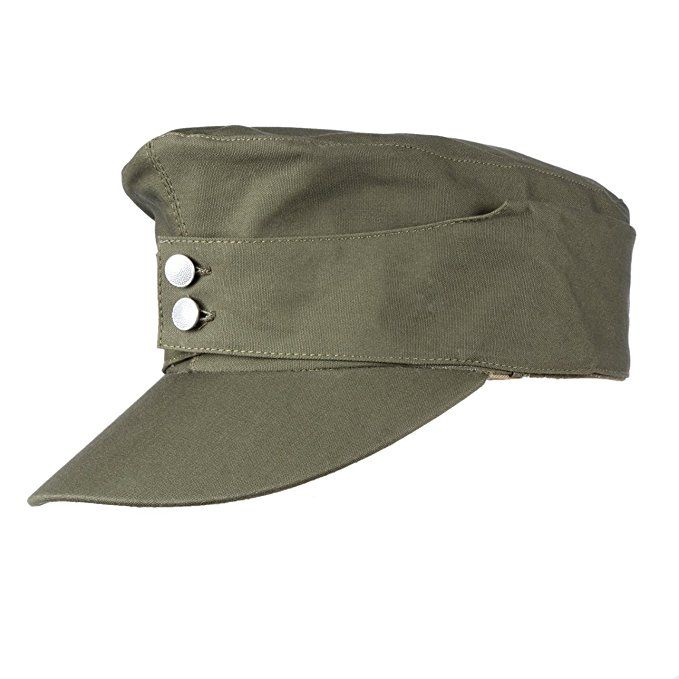 a7d9f80f Heerpoint Reproduction WWII WW2 German Army EM summer panzer M43 field Cap  (L)