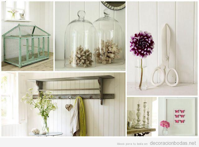 Ideas para decorar una boda con estilo vintage y chic - Detalles decoracion boda ...