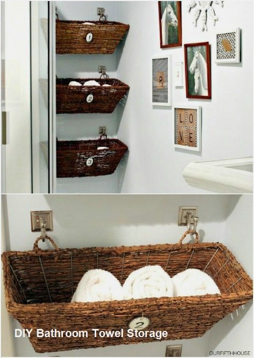 Great Diy Bathroom Towel Storage Ideas 1 Diy Bathroom Decor Rustic Bathroom Decor Bathroom Towel Storage