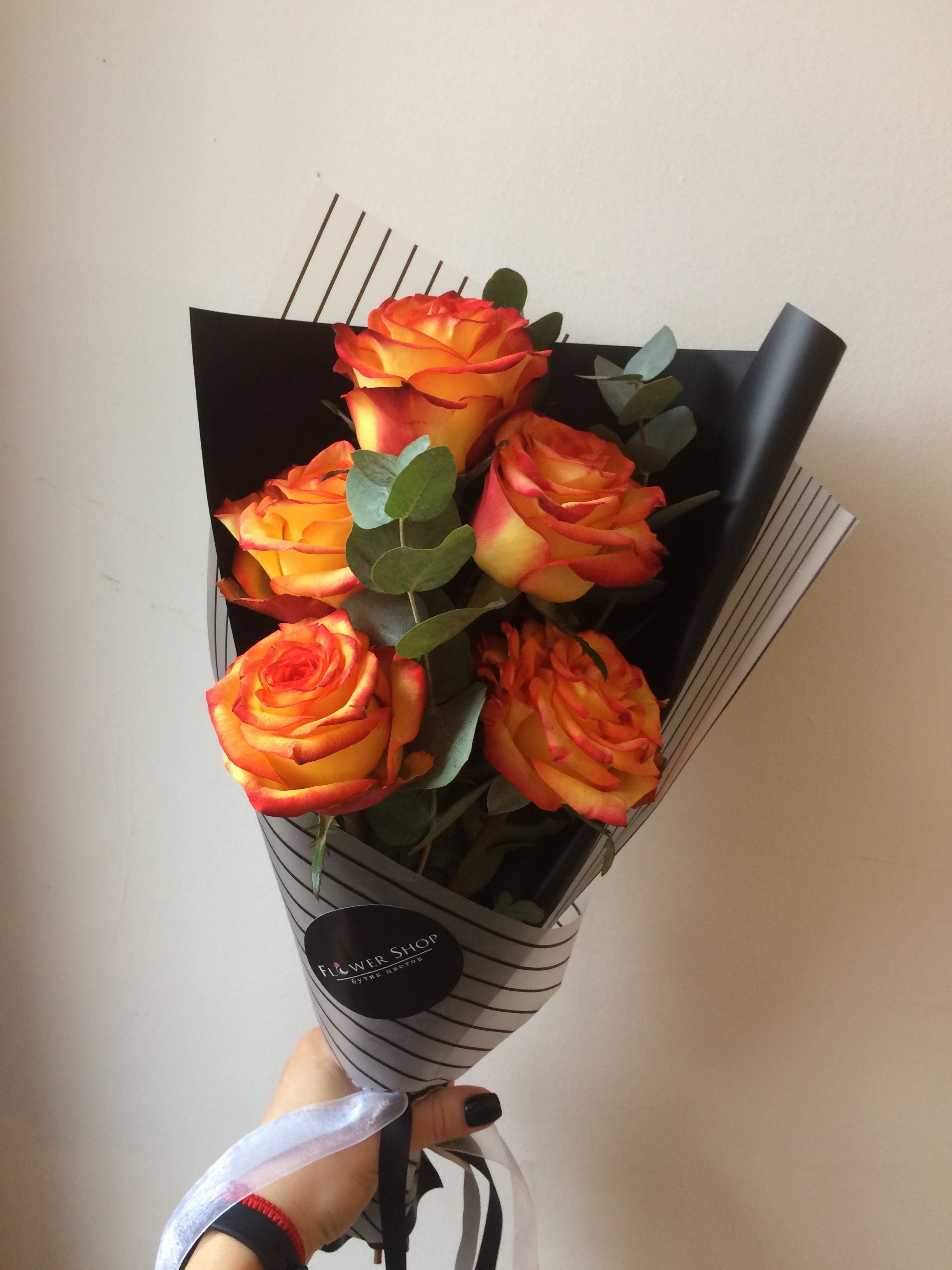 Korejskaya Upakovka Buketa Flowers Bouquet Flowers Bouquet Gift Flowers Online