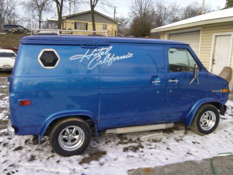 1976 Chevrolet G20 Van Custom Vans Cool Vans