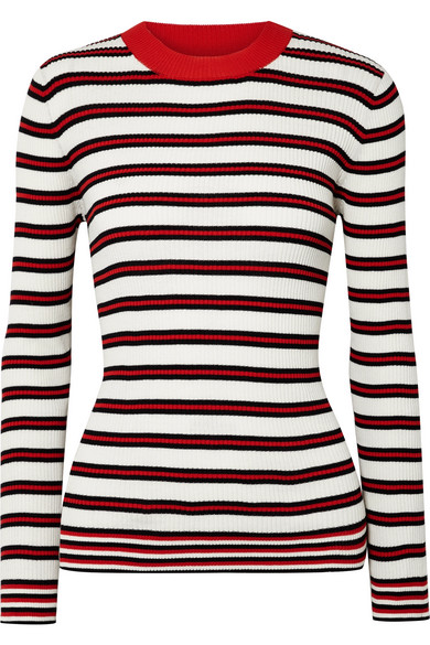 Chinti and Parker Striped ribbed cotton sweater | type 4