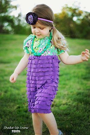 Josie\'s Girls Ruffle Fabric Peasant Dress PDF Pattern | Sewing ...
