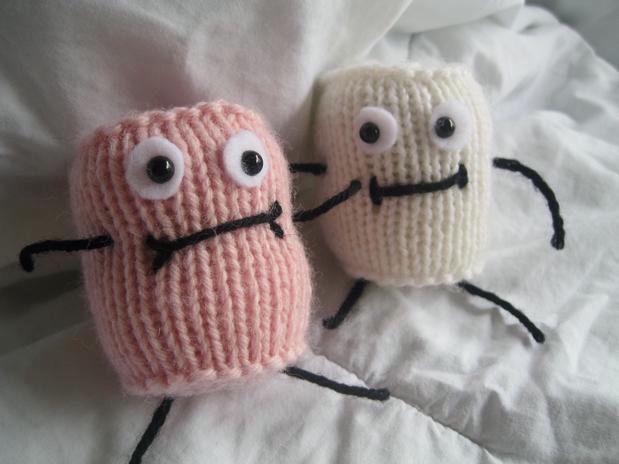 Marshmallow People - Knitting Patterns and Crochet Patterns from KnitPicks.com
