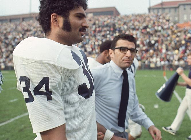 newest b6e08 af845 Joe Paterno and Franco Harris at Penn State. | The Sports ...