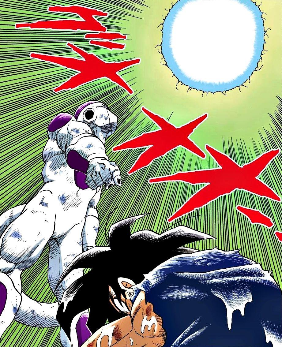 Freezer Fourth Form Son Goku Genkidama Dragon Ball Artwork Dragon Ball Art Dragon Ball Wallpapers