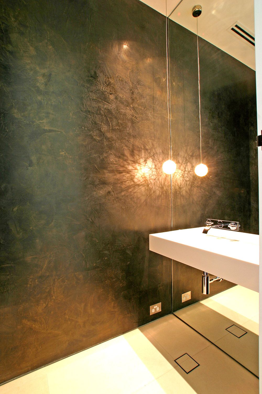 polished plaster - Google Search …   BLACK in 2018…