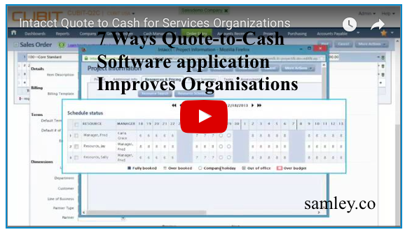 Quote To Cash Beauteous 7 Ways Quotetocash Software Application Improves Organisations