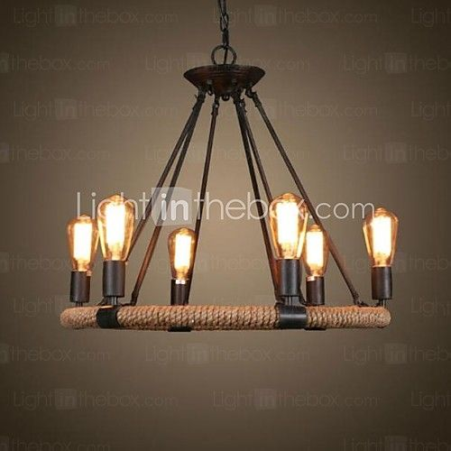 Chandelier , Traditional/Classic Rustic/Lodge Vintage Retro Country