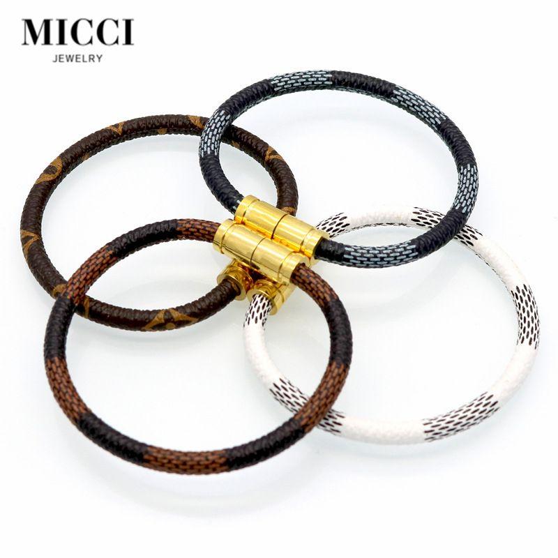 Name Brand Bracelets: Best Selling Replica Brand Name Jewelry Leather Bracelets