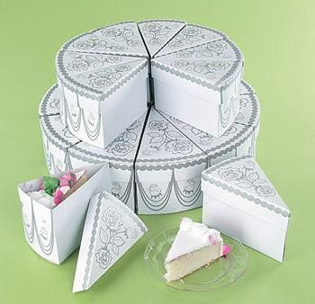 Not Looking For A Traditional Wedding Cake Why Not Buy A Wedding Cake Box Already Sliced With Wedding Cake Boxes Wedding Cake Slice Boxes Wedding Favor Boxes