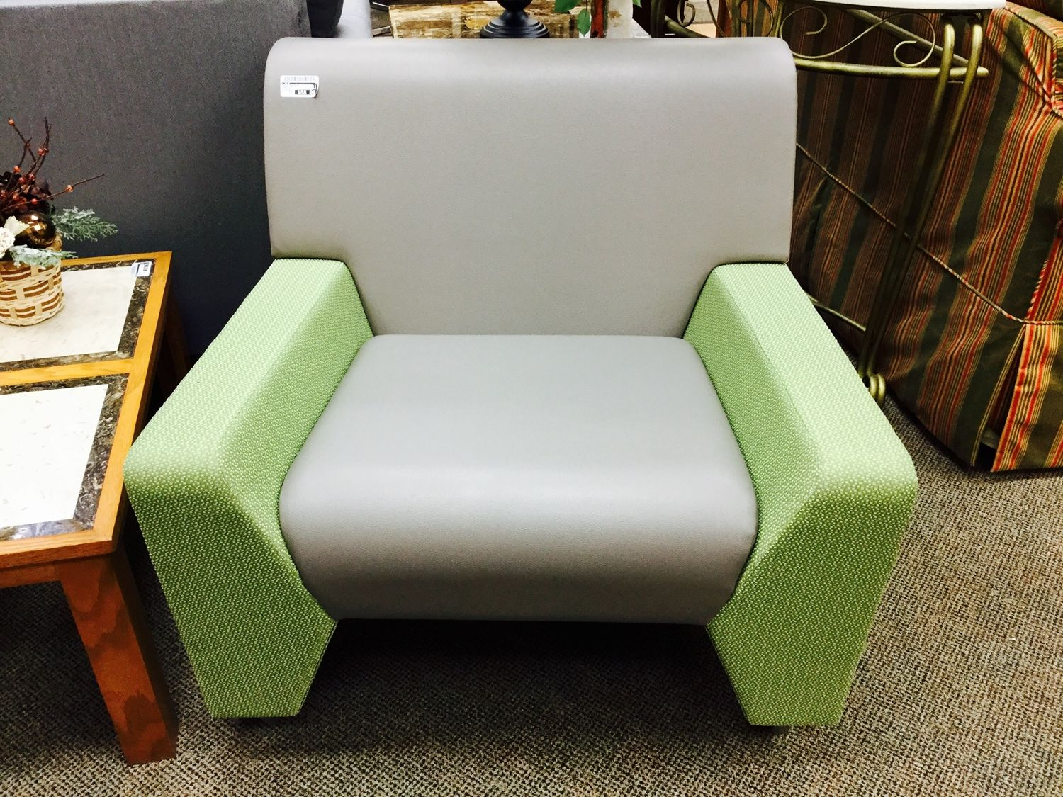 Find amazingly low prices on modern furniture at new uses fabulous grey green armchair