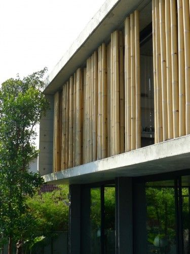 The Bamboo Curtain House Eco Id Architects Arquitetura Em