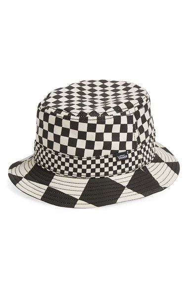 Vans  Checker  Bucket Hat available at  Nordstrom  653ecfcbbdc7