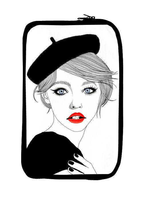 Paris girls pouchbyHajin Bae(:배하진)