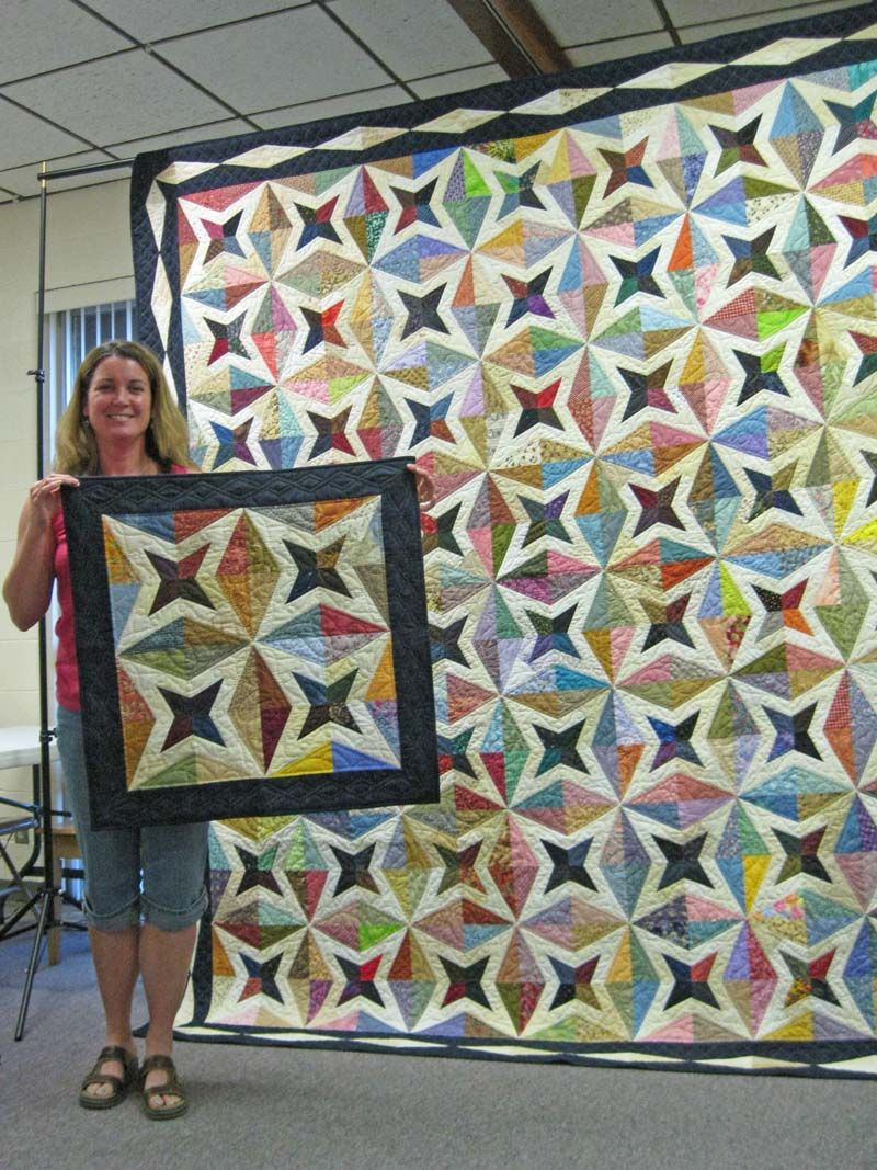 Raffle Quilt Piecemakers Quilt Guild Saginaw Michigan