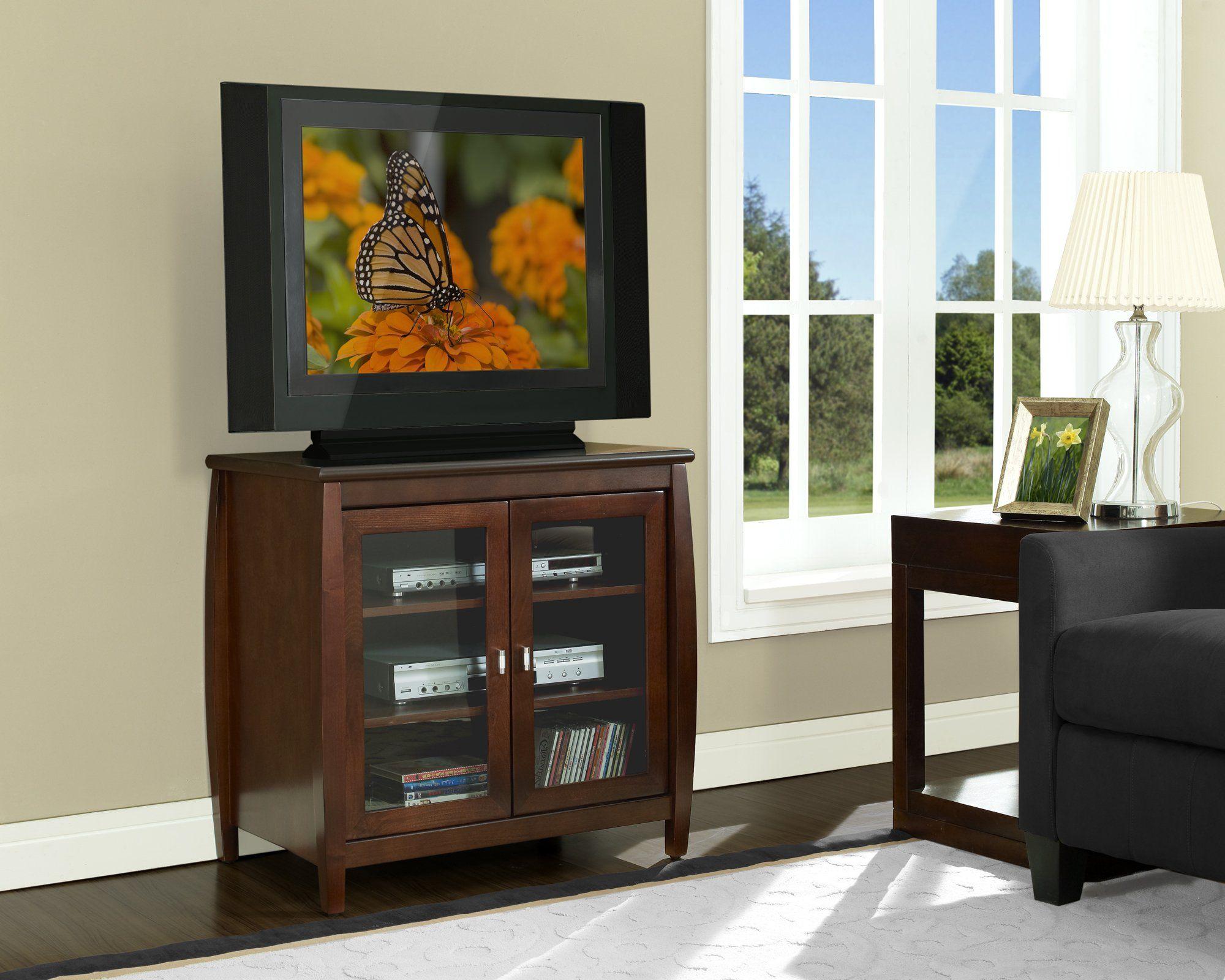 Amazon Com Techcraft Swd30 30 Inch Wide Flat Panel Tv Hi Boy Walnut Furniture Decor Flat Panel Tv Home Furniture