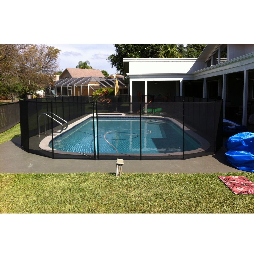 water warden pool safety fence 5 ft x 12 ft overstock