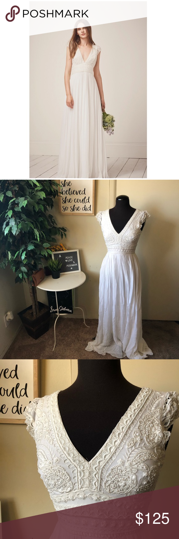 c1f149dc8f1c Cap Sleeves · French Connection special occasion wedding dress The Palmero  brings together a romantic, draped shape and
