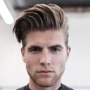 Mens Hairstyles For Thick Hair Interesting Top 22 Comb Over Hairstyles For Men  Men Hairstyles Curly And Hair