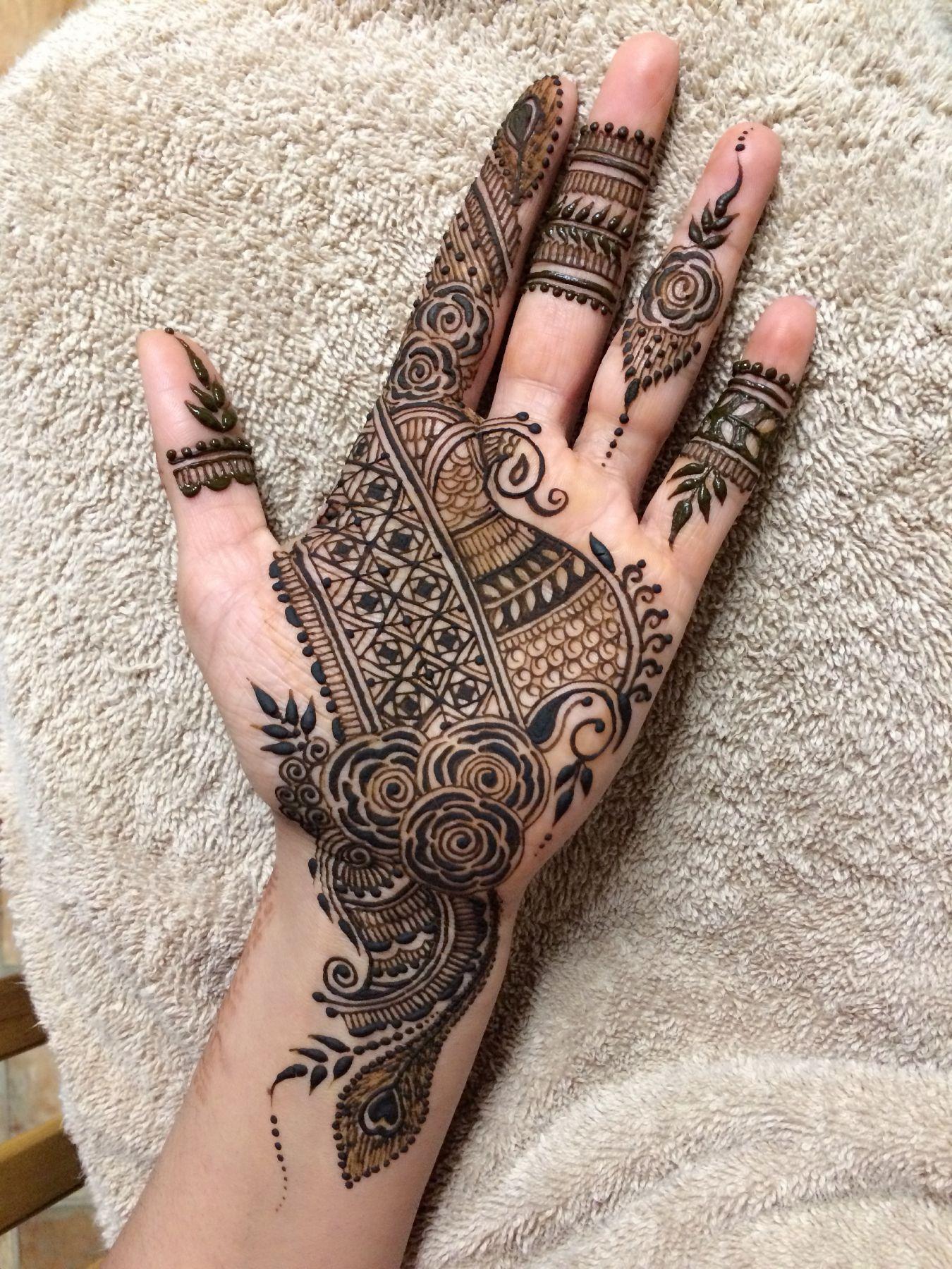 Pinterest Alexandrahuffy Palm Henna Designs Latest