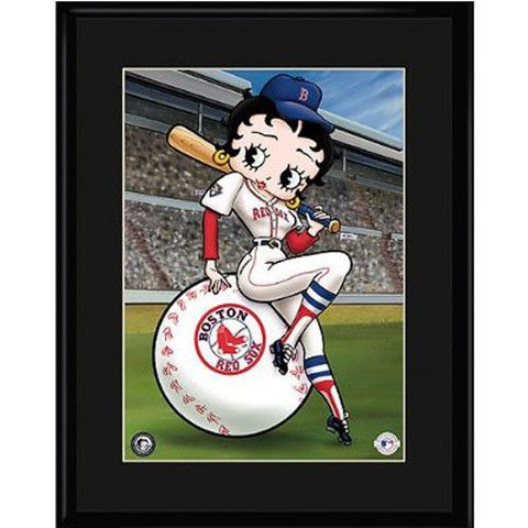 Boston Red Sox MLB Betty On Deck Collectible