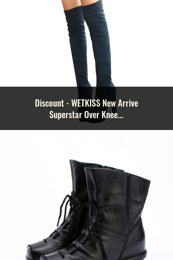 03c8f0f8c329 WETKISS New Arrive Superstar Over Knee Boots Women Fashion Winter Boots  Woman Shoes Autumn Zip Thick