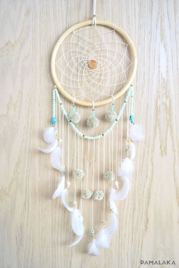 Dreamcatcher attrape reve gypsy pastel - Faire attrape reve ...