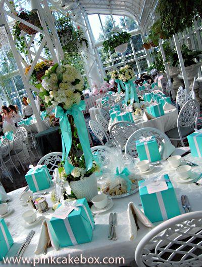 Bridal Shower Tiffany Cupcake Tower Wedding Cupcake Stands