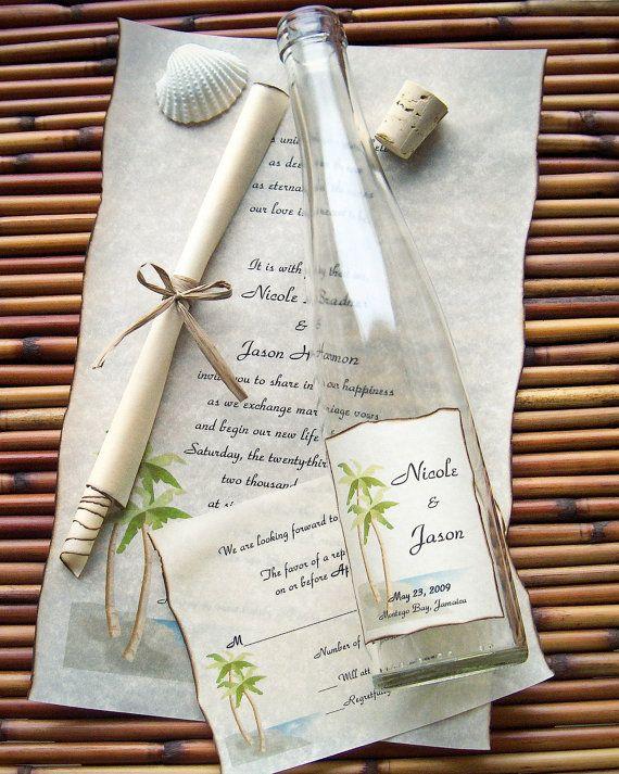 Message In A Bottle Premier Wedding By Messageinabottleshop