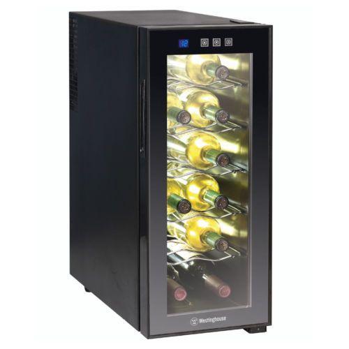 NEW Westinghouse Wine Refrigerator 12-bottle Digital Mini Cooler Fridge #Westinghouse