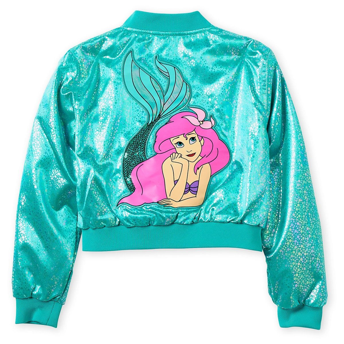 Ariel Varsity Jacket for Girls – Personalized #varsityjacketoutfit