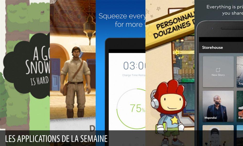 Les apps de la semaine : Scribblenauts Unlimited, A Good Snowman… - http://www.frandroid.com/android/applications/google-apps/330491_les-apps-de-la-semaine-scribblenauts-unlimited-a-good-snowman  #ApplicationsAndroid, #GoogleApps, #GooglePlay, #Jeux, #LesTOPSd'applications!