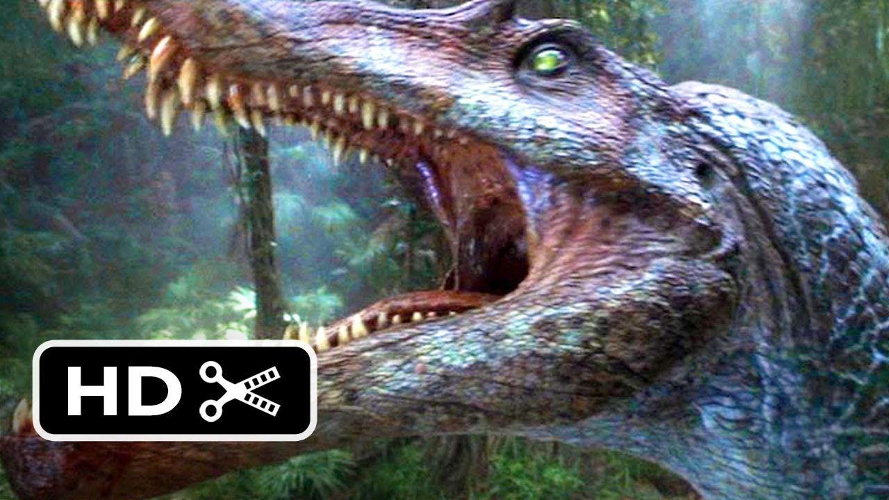 Jurassic Park 3 3 10 Movie Clip Spinosaurus Vs T Rex 2001 Hd